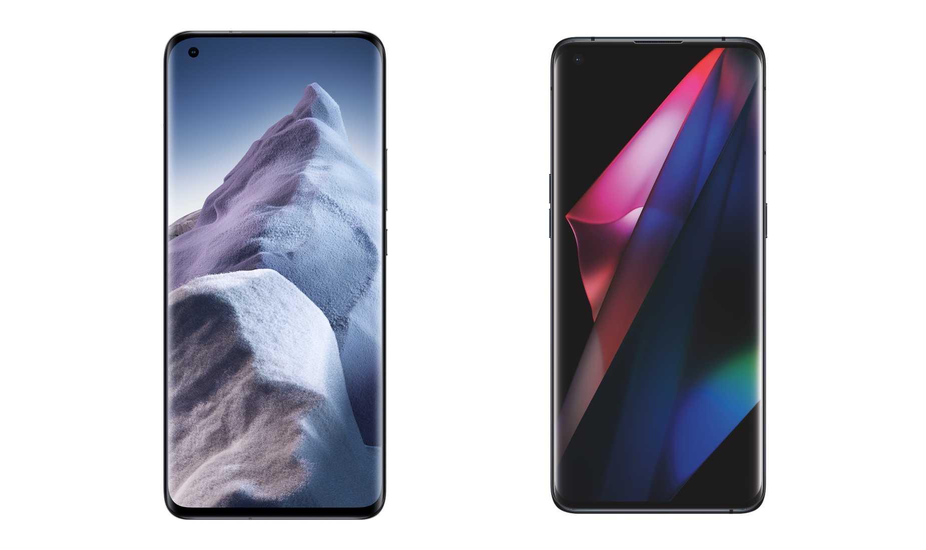 Xiaomi Mi 11 Ultra vs Oppo Find X3 Pro: la comparaison des fonctionnalités