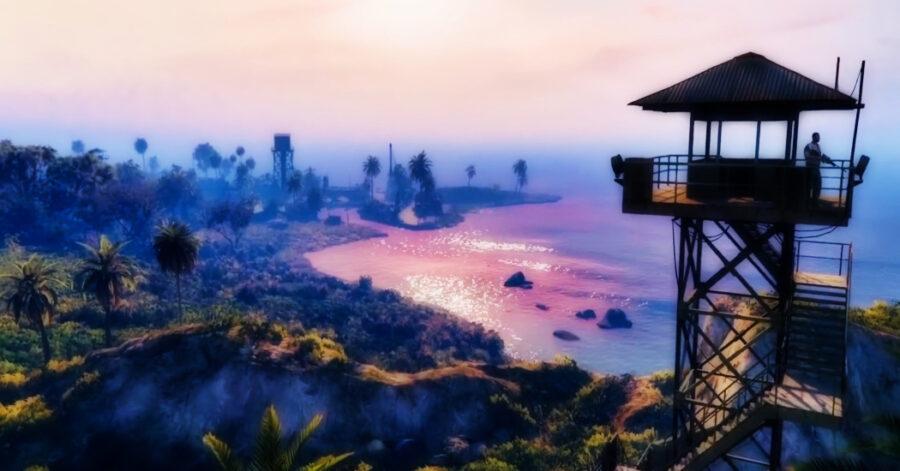 Capture d'écran de la bande-annonce de GTA Online