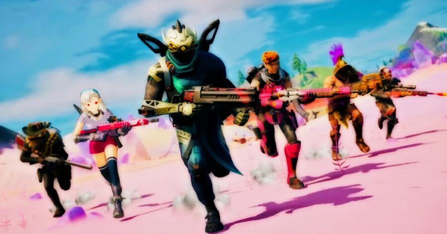 Capture d'écran de la bande-annonce de jeu Fortnite