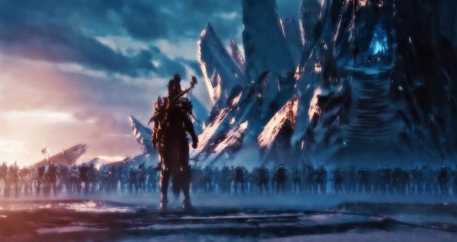 Capture d'écran de la bande-annonce de World of Warcraft