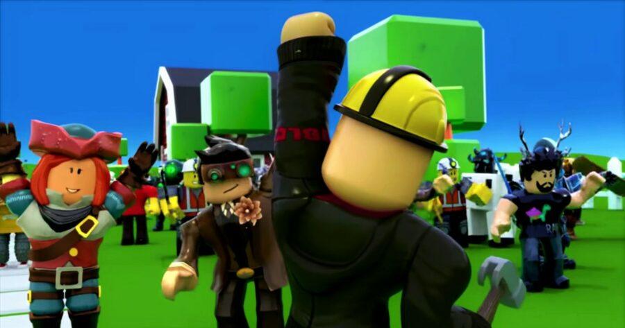Capture d'écran de la bande-annonce du gameplay de Roblox