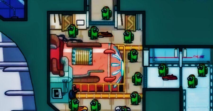 Capture d'écran de la bande-annonce de gameplay de Among Us