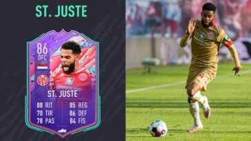 FIFA 21: Anniversaire de St.Juste FUT, comment relever les défis et les statistiques de votre équipe