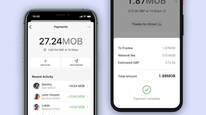 Test de sécurité des paiements de signal MobileCoin