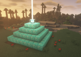 Minecraft with the BSL Shader.