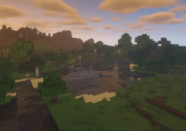 The BSL Shader being used in Minecraft.