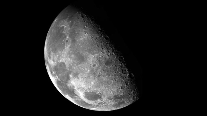 Illustration de la marche sur la lune