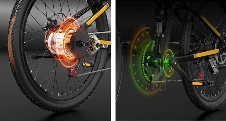 1618234567 934 Velo de montagne Bezior X500 Pro une option electrique