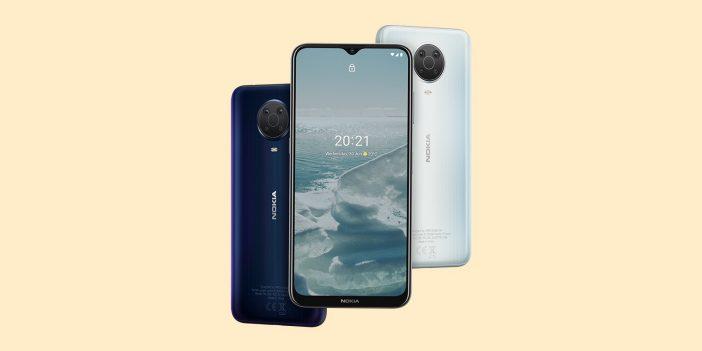 Une image du Nokia G20