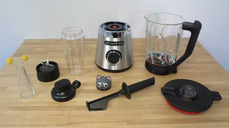 Standmixer Bosch VitaPower Serie 4 im Test: Mit viel Kraft und Standfestigkeit