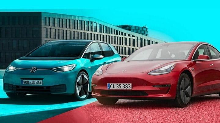 Tesla et Volkswagen