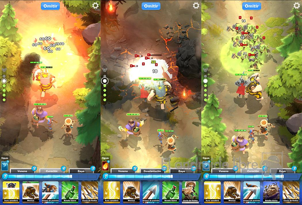 Explosions dans Darkfire Heroes