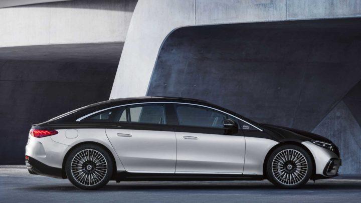 C'est officiel: le nouveau Mercedes-Benz EQS avec 770 km d'autonomie est arrivé