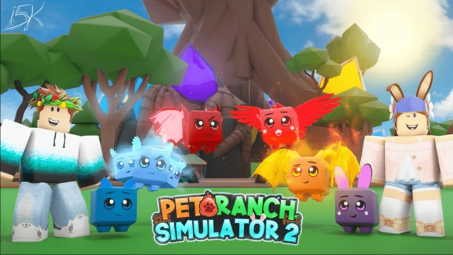 Le jeu Roblox Pet Simulator 2.
