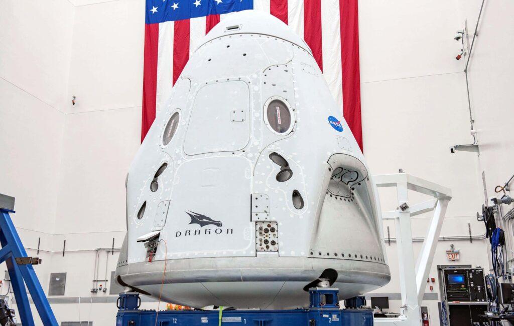 """Crew Dragon """"Endeavour"""" par SpaceX"""