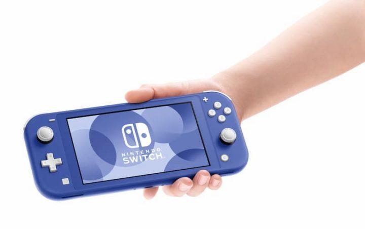 1618597627 43 Le systeme Nintendo Switch Lite Blue est sur le point