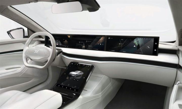 Zhiji L7: la voiture électrique d'Alibaba avec 1100 km d'autonomie