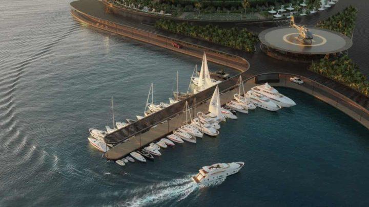 Hôtel éco-flottant