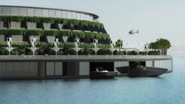 1618783027 450 Un hotel de luxe flottant peut atteindre nimporte ou et