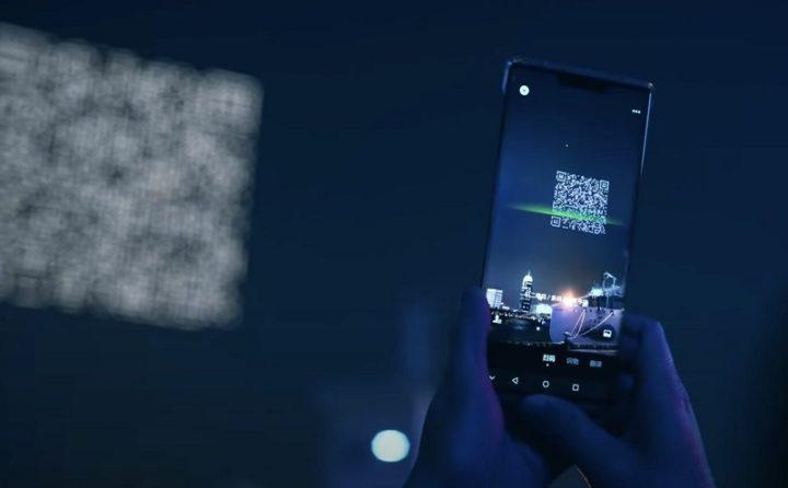 1618882384 715 Chine les drones affichent des codes QR geants dans le