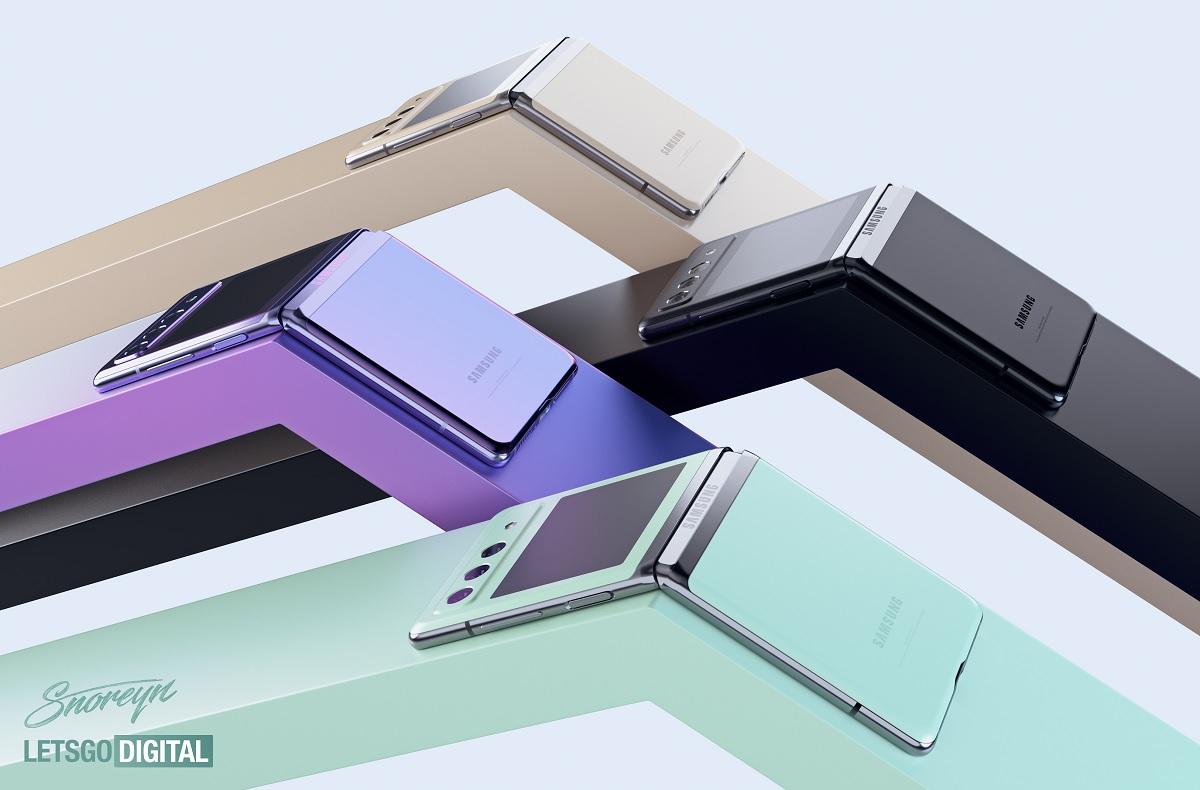 Samsung Galaxy Z Flip 3 couleurs