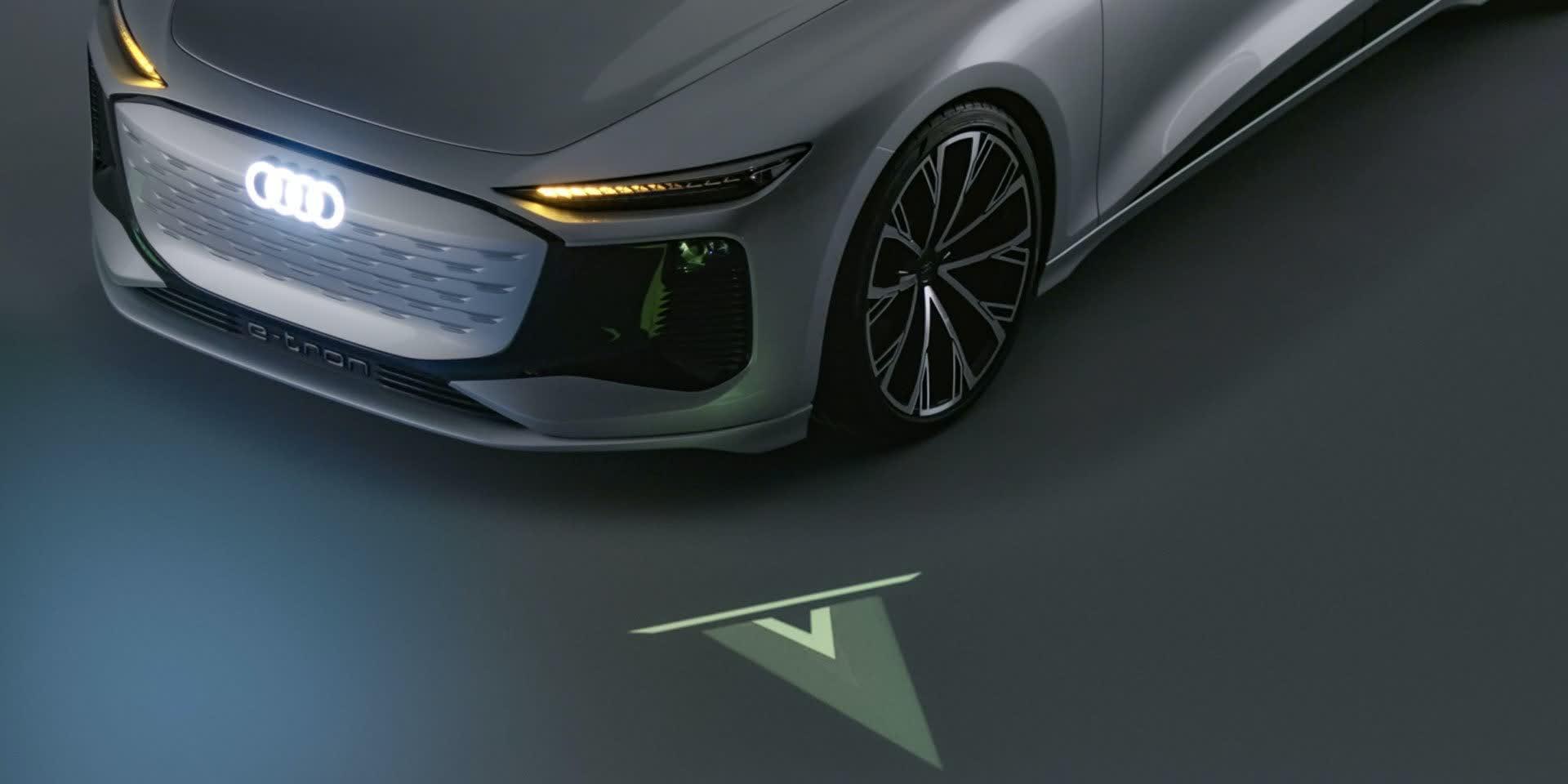 1618926488 36 Le concept Audi A6 e tron peut projeter des jeux video