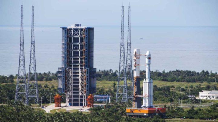 Centre de lancement spatial de Wenchang, Chine