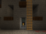 Diamon Ore in a Strip Mine in Minecraft.