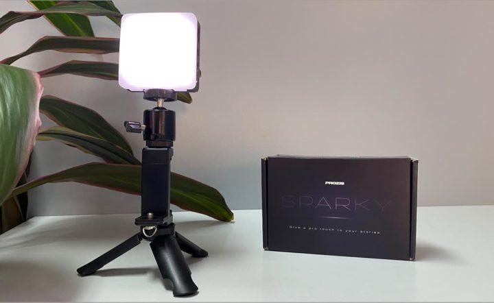 Sparky: Mini Light pour vos histoires en photographie et en vidéo
