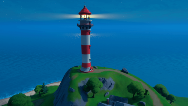 The lighthouse in Fortnite.