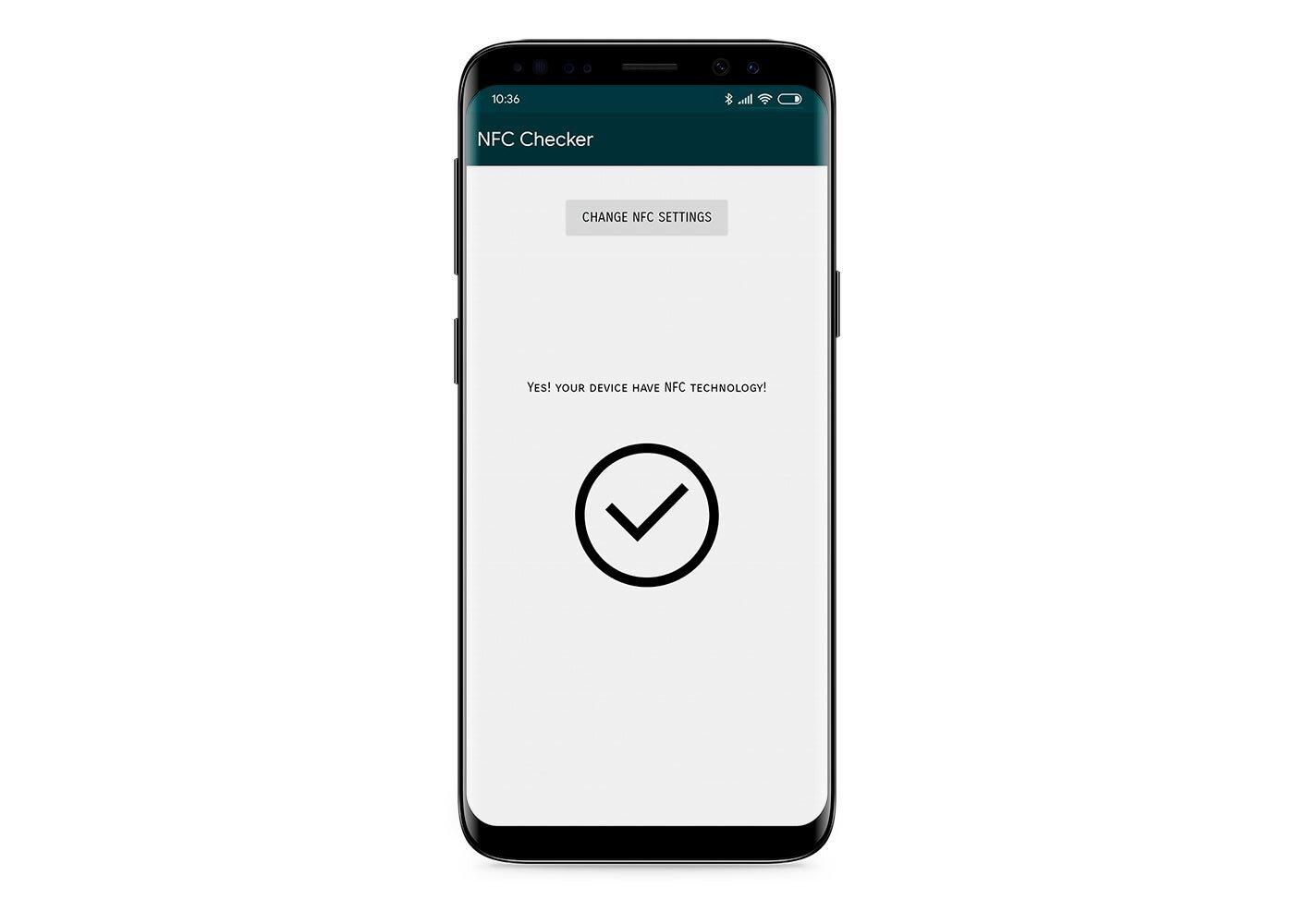 Vérificateur NFC