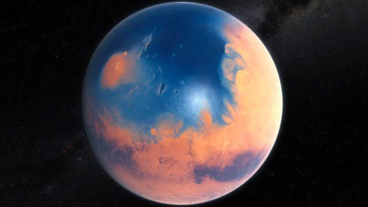 Illustration de l'image de l'ancienne Mars