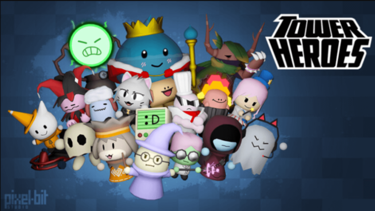Tower Heroes Roblox Game.