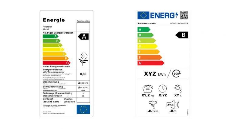 Label énergétique ancien et nouveau