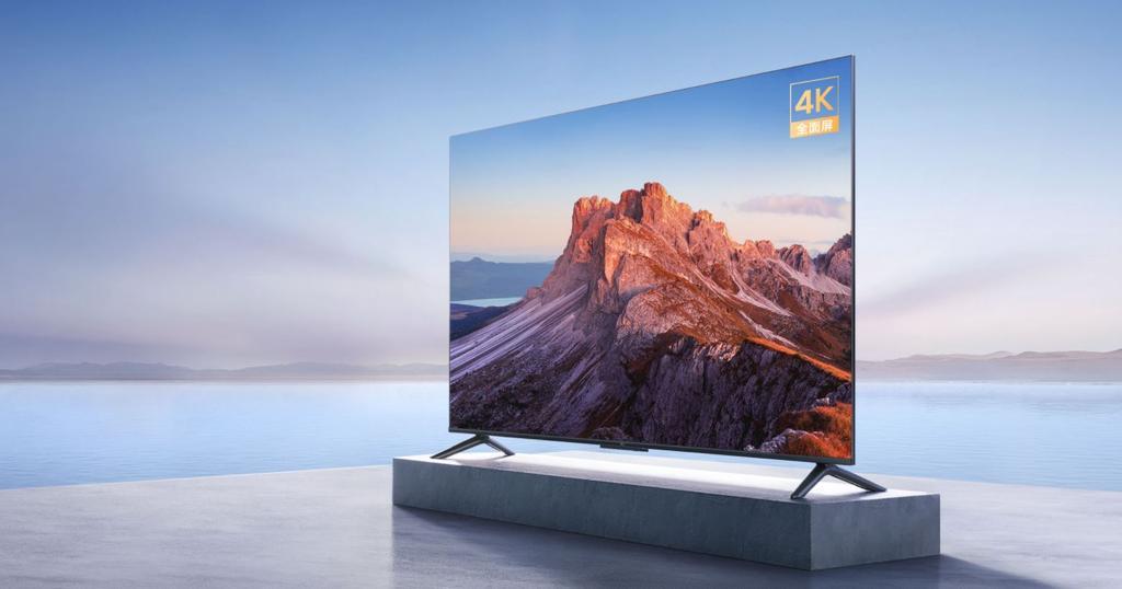 Xiaomi Mi TV EA 2022 sur le côté