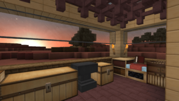 Anemoia texture pack in Minecraft.