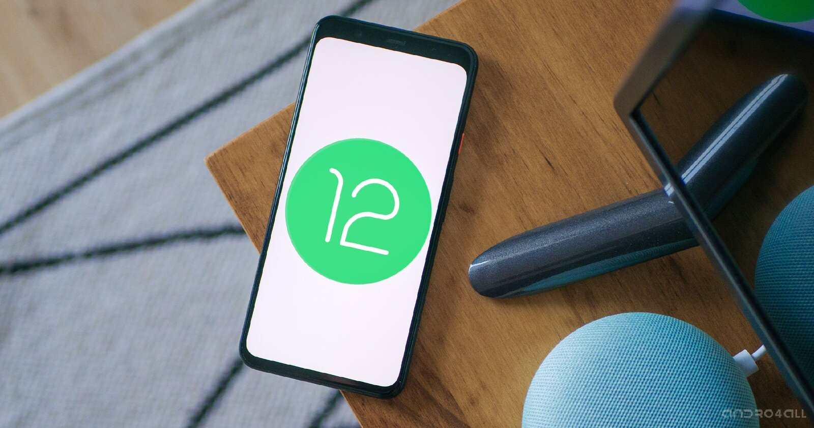 Android 12 officiel