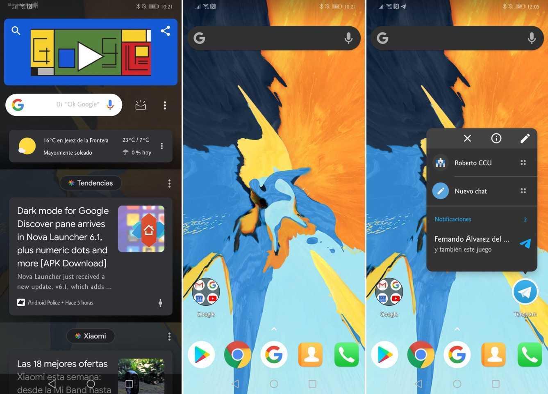 Android 12 permettrait aux lanceurs de rechercher des applications