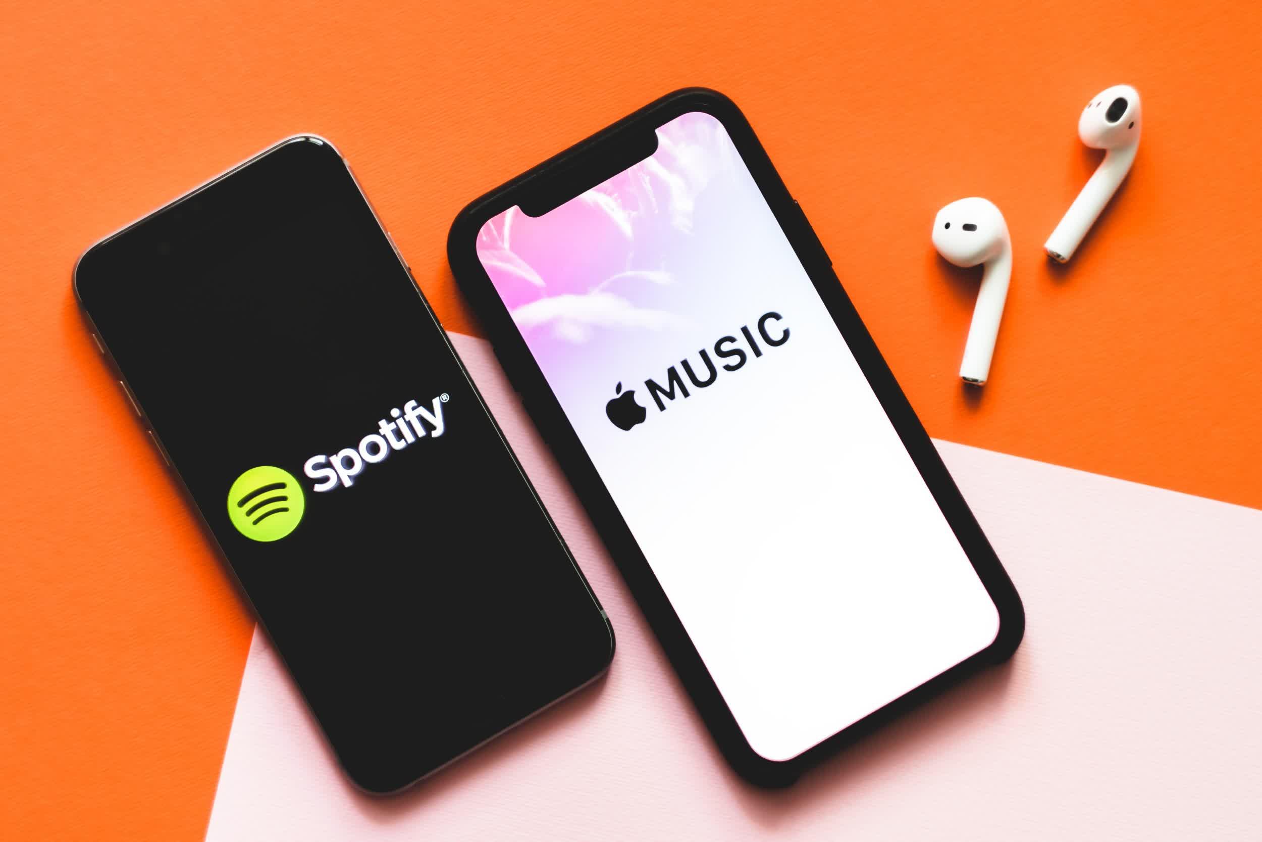 Apple Music paie aux titulaires de droits un centime par