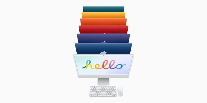 iMac en couleurs