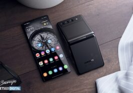 Conception du Samsung Galaxy Z Flip 3