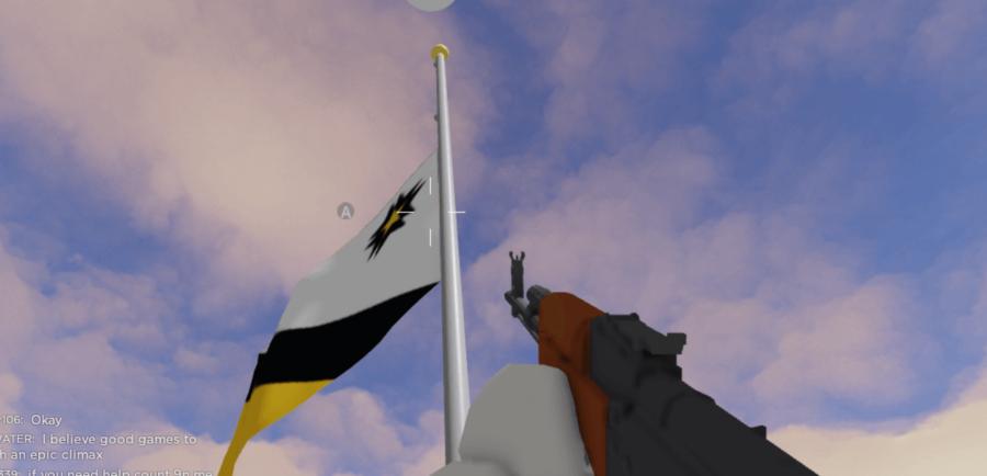 Élever un drapeau dans Polybattle.