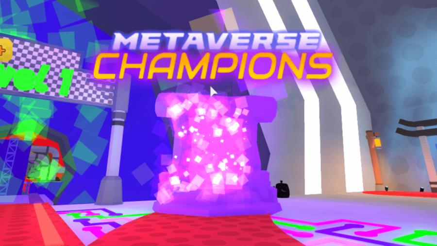 Zone d'événement Metaverse dans le jeu Sewer.