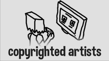Copyrighted Artists game in Roblox.