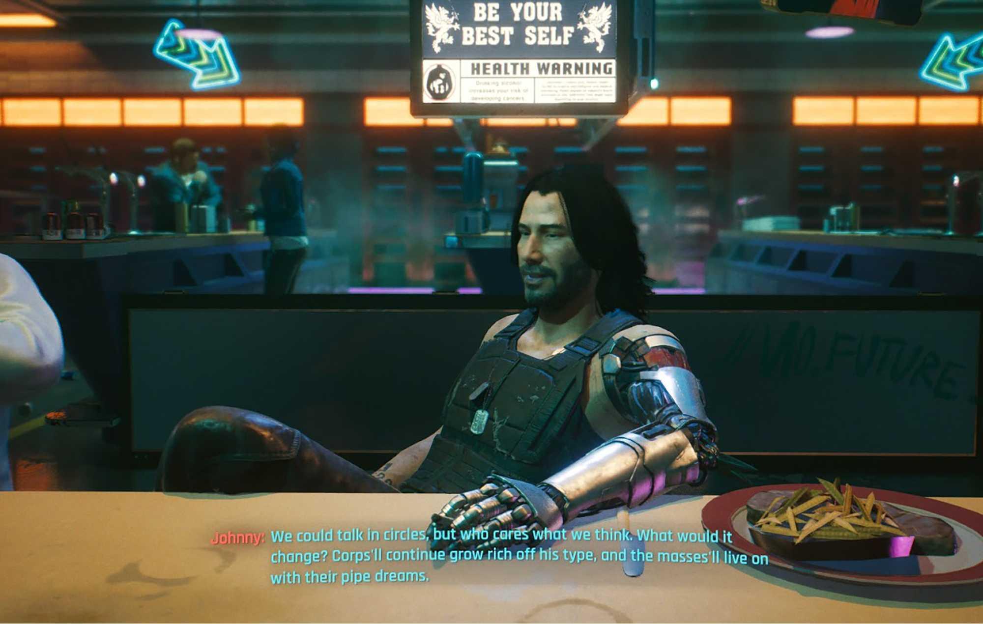 Cyberpunk 2077 Xbox Series S