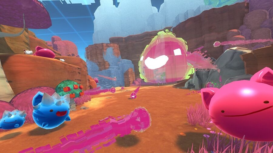 Emplacements Slime Key a Slime Rancher