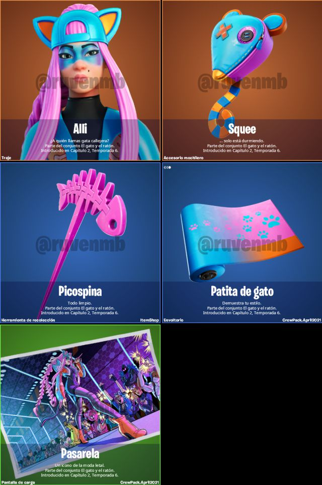 fortnite episode 2 saison 6 skin alli club fortnite avril 2021