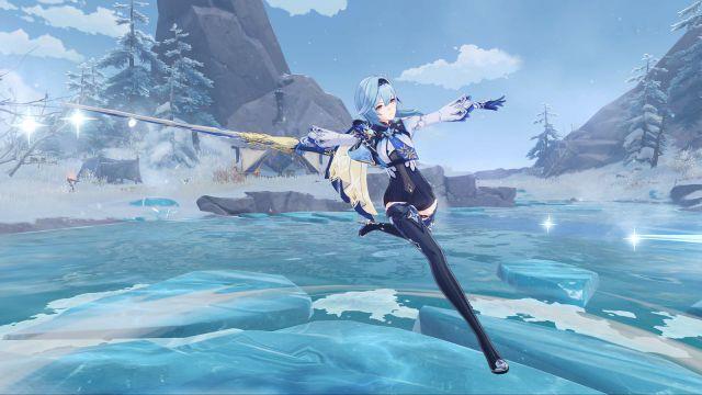 Date de sortie de Genshin Impact PS5