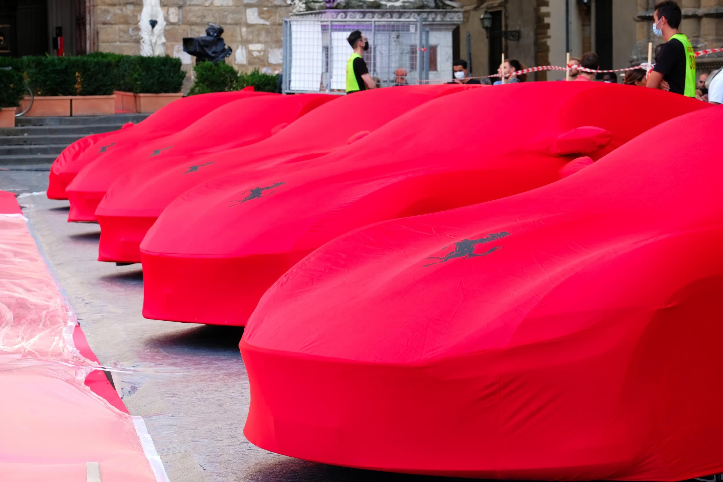 La premiere Ferrari 100 electrique sera prete dici 2025