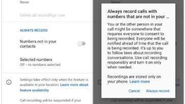 L'application Google Phone pourra enregistrer automatiquement les appels